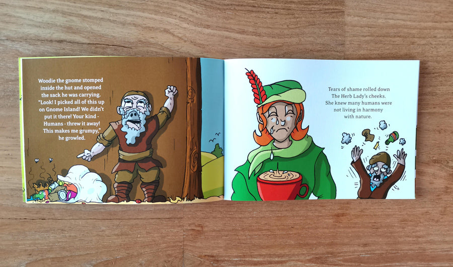 Herb World Eco-Heroes Book