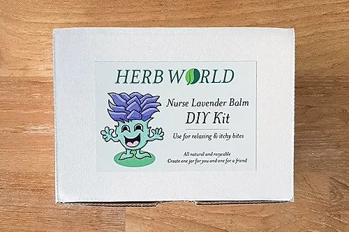 Herb World - Nurse Lavender Balm DIY Kit