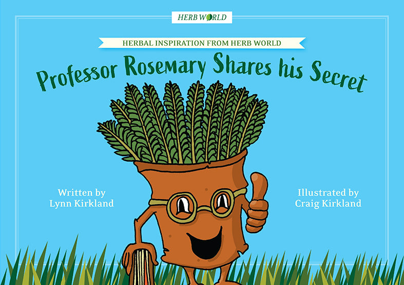 Herb World - Professor Rosemary Shares His Secret Book