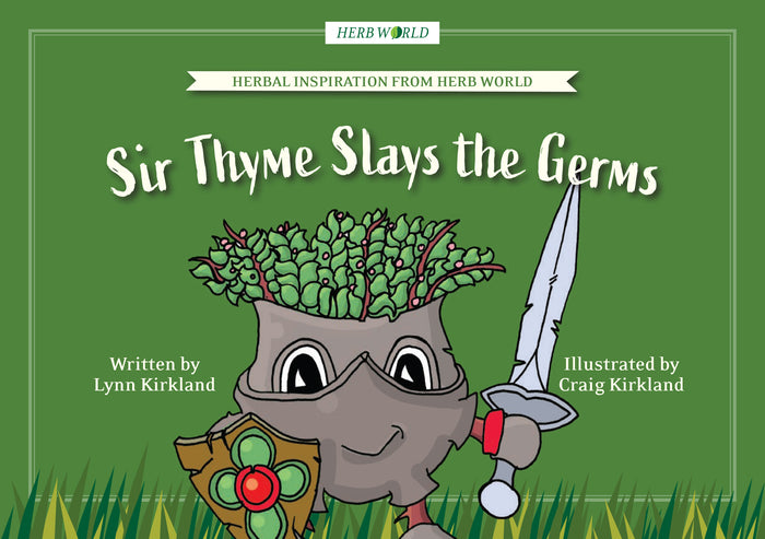 Herb World - Sir Thyme Slays the Germs Book