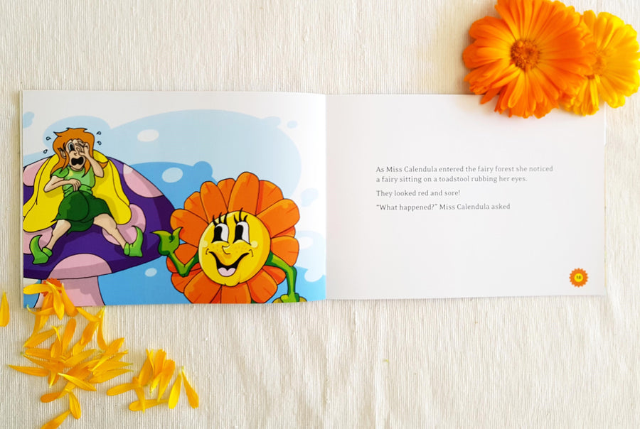 Herb World - Miss Calendula Saves the Day Book