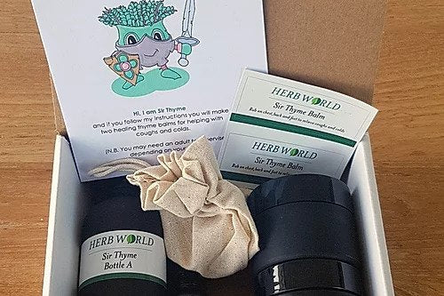 Herb World - Sir Thyme Balm DIY Kit