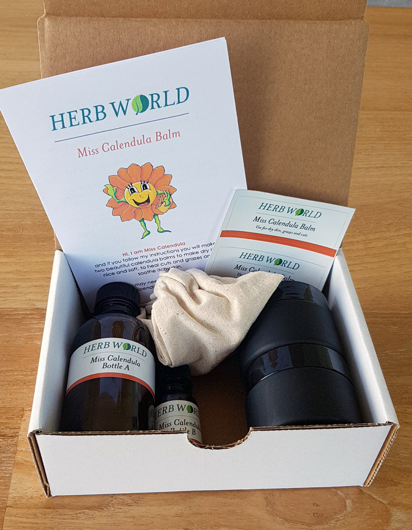 Herb World - Miss Calendula Balm DIY Kit