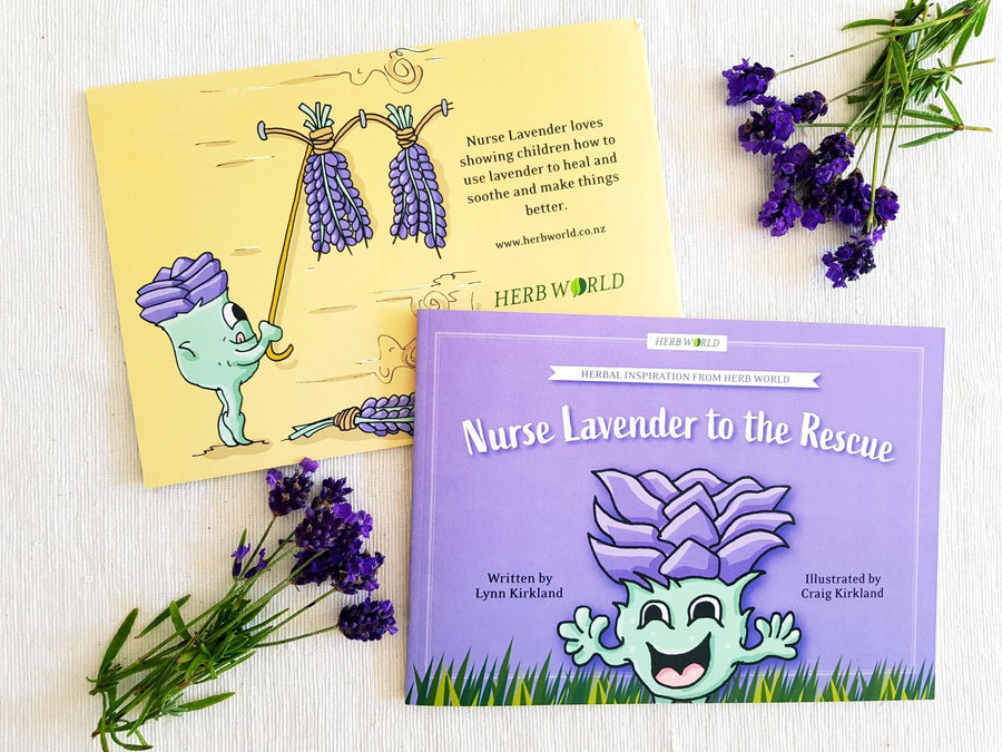 Herb World - Nurse Lavender to the Rescue Book