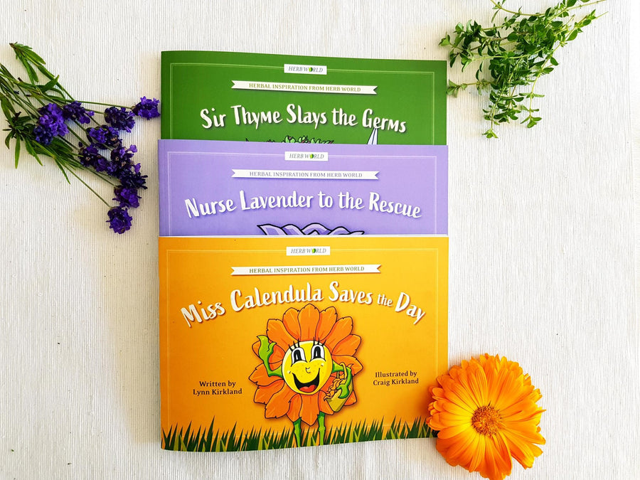 Herb World Books - Set of 3
