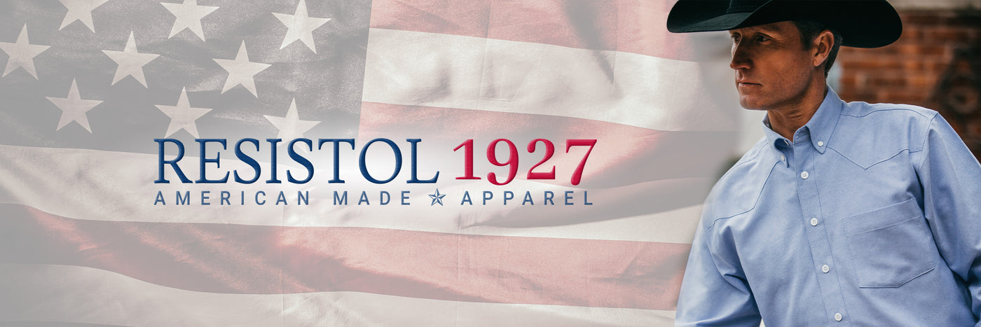 Resistol 1927 american made apparel