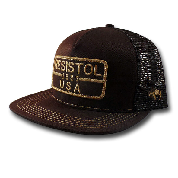 Hooey Resistol 1927 Patch Brown