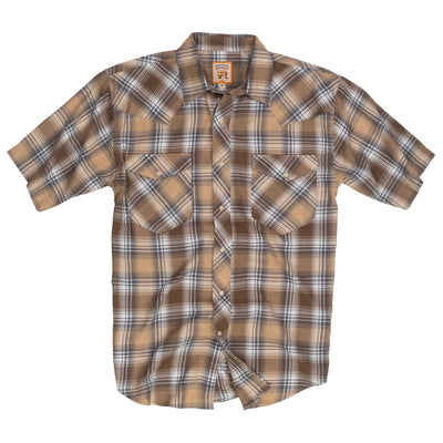 Walling Bend Plaid Half Sleeve - RESISTOL
