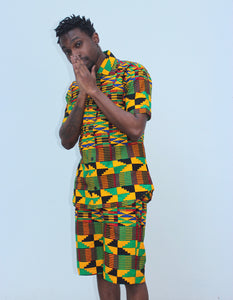 Jamaica Kente Shirt