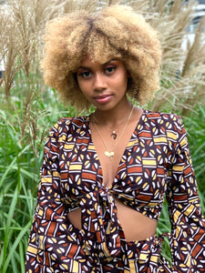Makeba Bell Sleeve Top