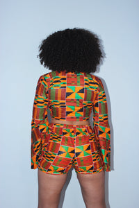 Kente Queen Shorts
