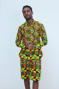 Jamaica Kente Shorts