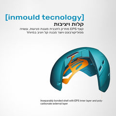 קסדה לאופניים לילדים Uvex final junior טורקיז האני באני