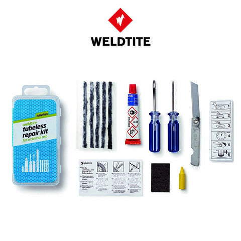 קיט לתיקון טיובלס וולדטייט WELDTITE Tubless repair kit