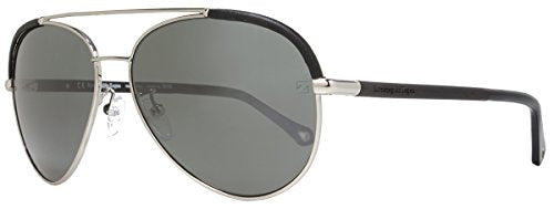 Ermenegildo Zegna SZ3346M Aviator Sunglasses,Ruthenium,59 mm