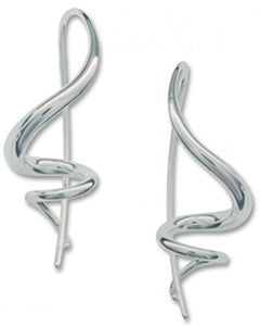 Ed Levin, Encore Earrings, .925 Sterling Silver