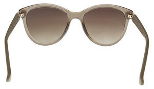 Calvin Klein Women's Ck3189s Cateye Sunglasses, Light Brown, 55 mm