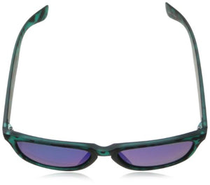 Polaroid P8443s Polarized Wayfarer Sunglasses,Blue & Turquoise,55 mm
