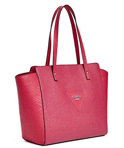 GUESS Women's Liberate Large Tote Bag Handbag (Pink)