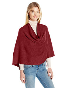 Echo Women's Milk Soft Poncho, port, One Size