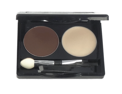 Brow Wax Duo: Dark Brunette