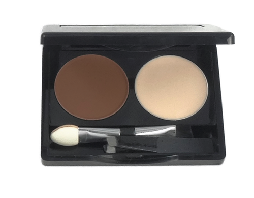 Brow Wax Duo: Deep Brown