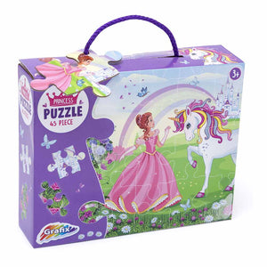 Princess & Unicorn Jigsaw Puzzle (45 Piece)