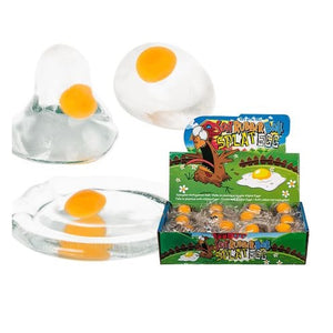 Splat Egg Rubber Stress Reliever Ball