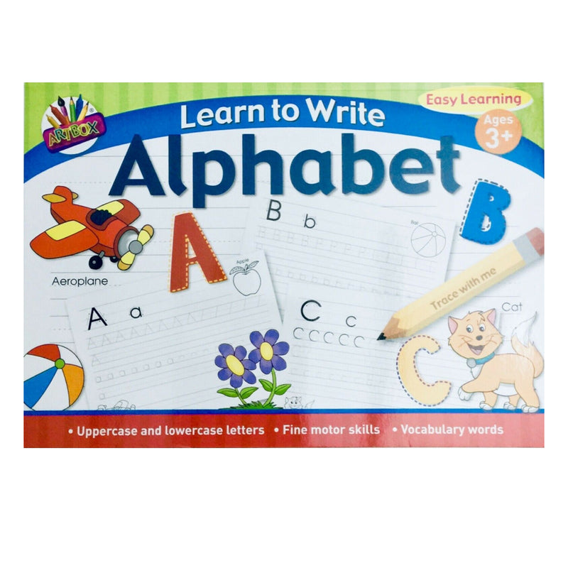 Learn To Write Alphabet Book