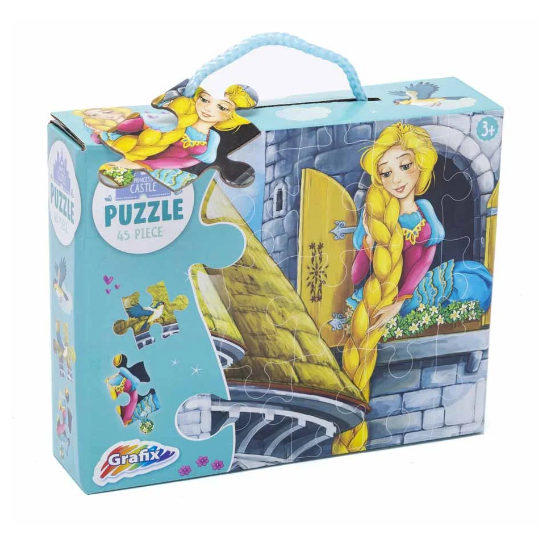 Princess Castle Puzzle 45 Piece