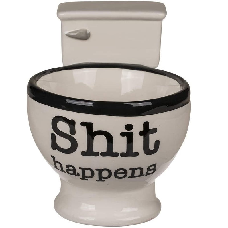 Shi* Happens Toilet Ceramic Mug