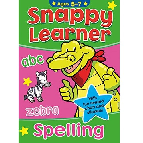 Snappy Learner Spelling Book Ages 5-7