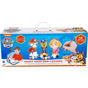 Paw Patrol Paint Your Own Figures