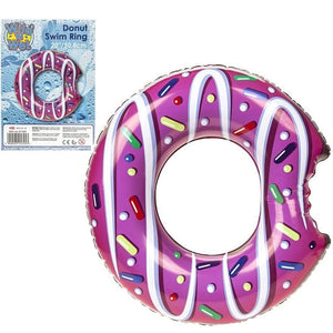 Inflatable Donut Swim Ring 20""