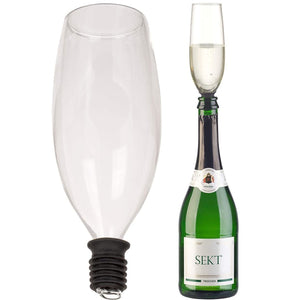 Champagne Glass Drink From The Bottle