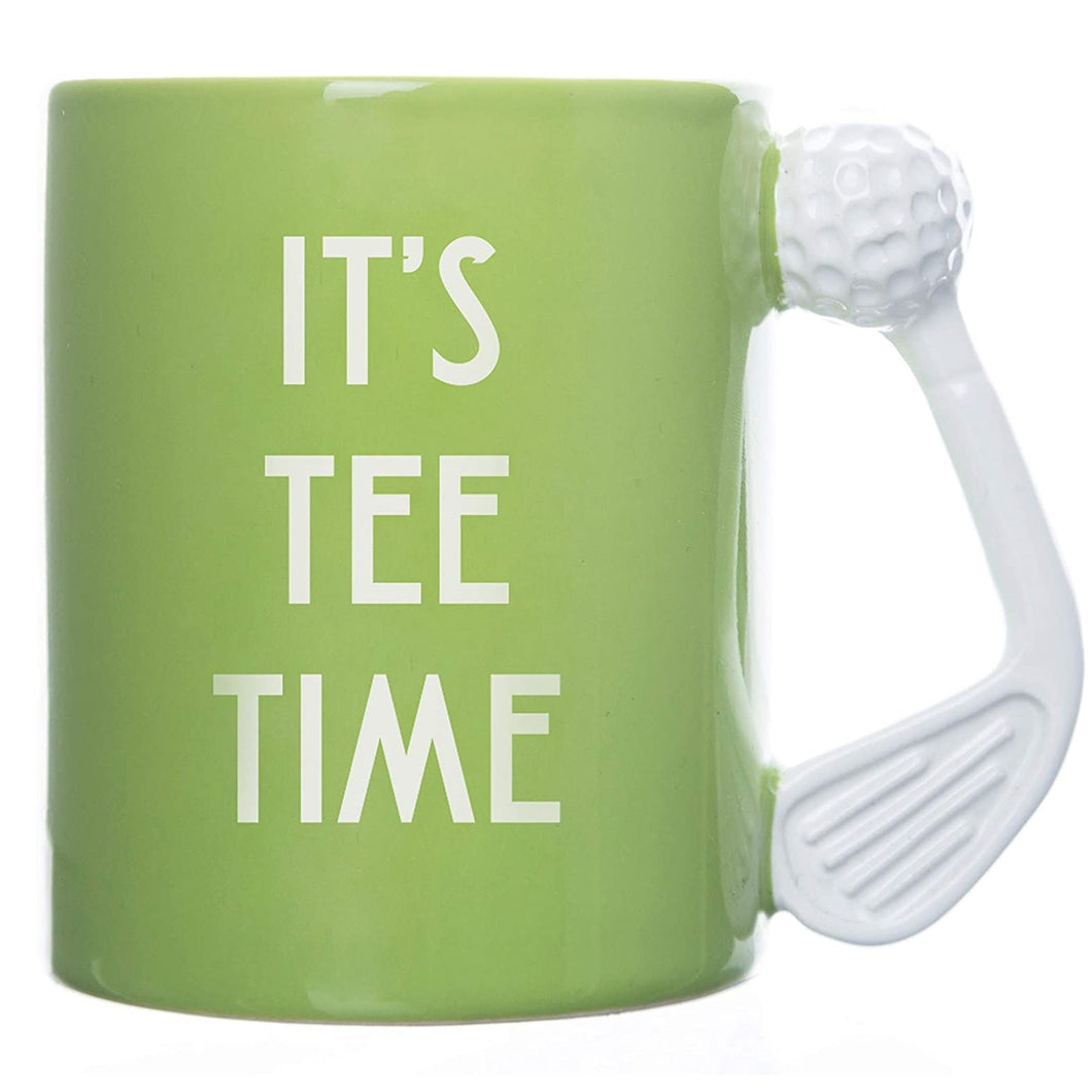 It's Tee Time Golf Mug