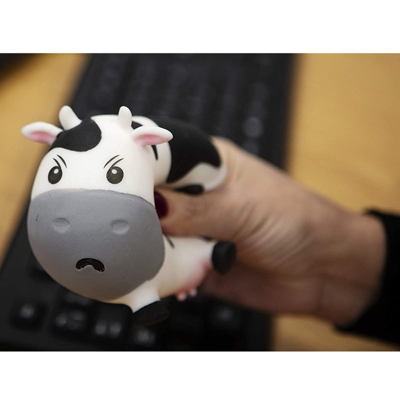 Moody Cow Stress Toy