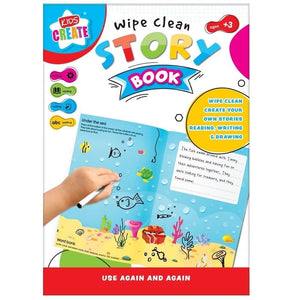 Wipe Clean Story Book