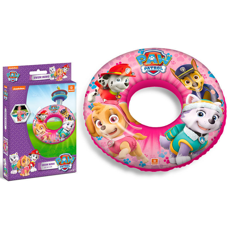 Paw Patrol Pink Swim Ring