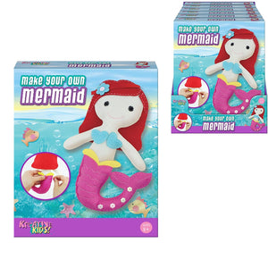 Make Your Own Felt Mermaid Sewing Kit