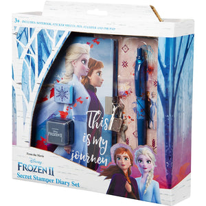 Frozen 2 Secret Diary & Stamper Set
