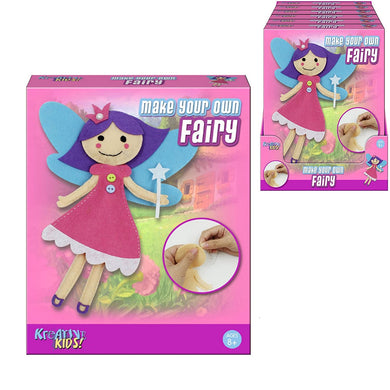 Make Your Own Felt Fairy Sewing Kit