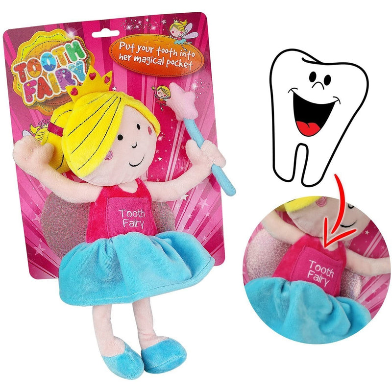Plush Tooth Fairy Doll