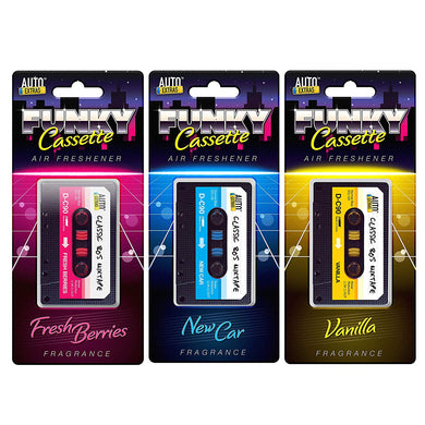 Set of 3 Car Air Freshener Cassettes