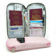 Travel Organiser Zipper Case