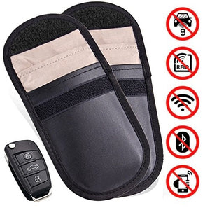 Car Key Signal Blocker Pouch (2 Pack)