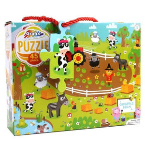 Farm Animals Jigsaw Puzzle 45 Piece