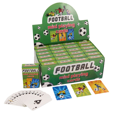Football Mini Playing Cards