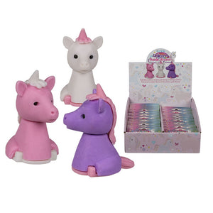 Unicorn Puzzle Erasers - Pack of 3