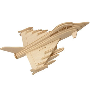Eurofighter Typhoon 3D Wooden Puzzle